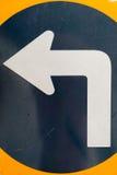 Linke Richtung Stockbild