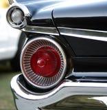 Linke Seite der alten Autoheckleuchten Stockfotografie