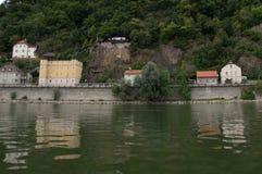 Linke Seite Passau Stockfotografie