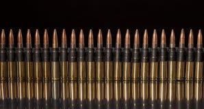 Linked ammunition Royalty Free Stock Photography