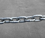 Linked chain Royalty Free Stock Image