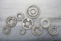Linked Gears royalty free stock photography