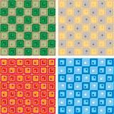 linked squares variation Στοκ φωτογραφία με δικαίωμα ελεύθερης χρήσης