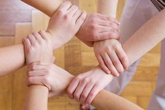Linked together Stock Photography