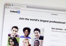 Linkedin Royalty-vrije Stock Afbeeldingen