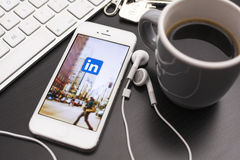 Linkedin Royalty Free Stock Images
