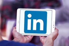 Linkedin logo Stock Image