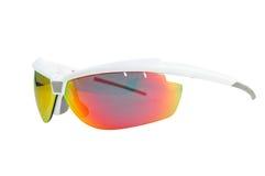 Linker Regelkreis trägt Sonnenbrille zur Schau Lizenzfreies Stockbild