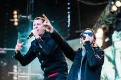 Linkin Park concert Royalty Free Stock Photos