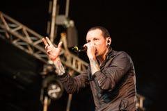 Linkin Park concert Stock Image