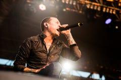 Linkin Park-overleg royalty-vrije stock afbeelding
