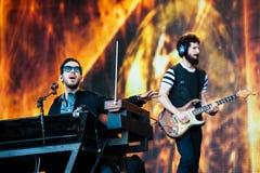 Linkin Park-overleg royalty-vrije stock afbeeldingen