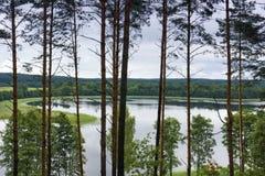 linkmenas озера стоковое изображение rf