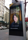 LinkNYC报亭,一个新的通讯网络,纽约,美国 库存图片