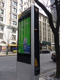 LinkNYC Kiosk, A New Communications Network, New York City, USA Royalty Free Stock Images