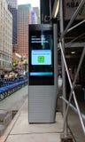 LinkNYC Kiosk Royalty Free Stock Photos