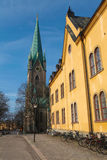 Linkoping Cathedral Royalty Free Stock Photos