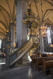 Linkoping Cathedral church Royalty Free Stock Photos