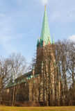 Linkoping cathedral Stock Photography
