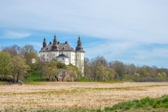 Ekenäs castle during spring in Sweden. Linkoping, Sweden - May 13, 2017: Ekenas castle in the countryside outside Linkoping. The castle, which is a popular royalty free stock photography