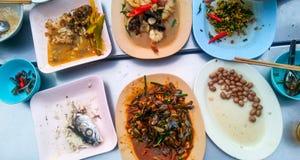 Links über Nahrungsmitteln Lizenzfreie Stockfotografie