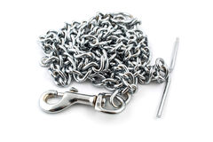 Links of a chain close up Royalty Free Stock Photography