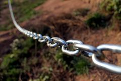 The links of a chain, Espinelves, Montseny Massif Royalty Free Stock Image