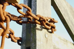 Links in a chain Stock Photography