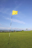 Links Golf Flag Stock Photos
