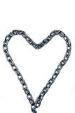 Links of a metal chain Royalty Free Stock Photography