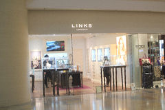 Links shop in Hong Kong Stock Image