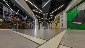 Linkstreet斗牛场室内购物中心 库存图片