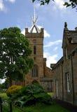 LINLITHGOW,苏格兰- 2013年6月:的St Michaels教会 库存图片