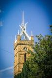 Linlithgow, шпиль церков ` s St Michael, Шотландия, Великобритания Стоковая Фотография