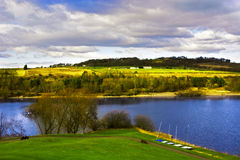 Linlithgow Loch in Spring Stock Photos