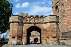 Linlithgow pałac, wejście obraz royalty free
