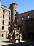 Linlithgow palace Royalty Free Stock Images