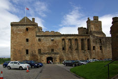 Linlithgow palace in Scotland Stock Images