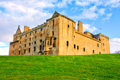 Linlithgow-Palast nahe Edinburgh in Schottland Lizenzfreie Stockfotos