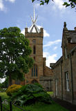 LINLITHGOW, SCHOTTLAND - Juni 2013: St. Michaels Church in Stockbilder