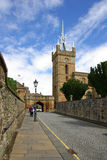 LINLITHGOW , SCOTLAND - June, 2013:   St Michaels Church in the Royalty Free Stock Photo