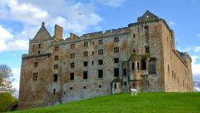 Linlithgow slott nära Edinburg i Skottland Arkivbilder