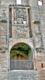 Linlithgow slott nära Edinburg i Skottland Fotografering för Bildbyråer