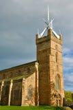 Linlithgow slott nära Edinburg i Skottland Royaltyfria Foton