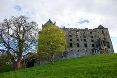 Linlithgow slott nära Edinburg i Skottland Royaltyfri Fotografi