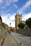 LINLITHGOW,苏格兰- 2013年6月:的St Michaels教会 免版税库存照片