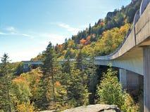 Linn Cove Viaduct Stock Fotografie