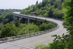 Linn Cove Viaduct Royalty Free Stock Photography