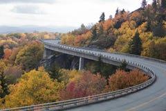 Linn Cove Viaduct fotografie stock