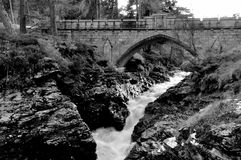 Linn of Dee Stock Image